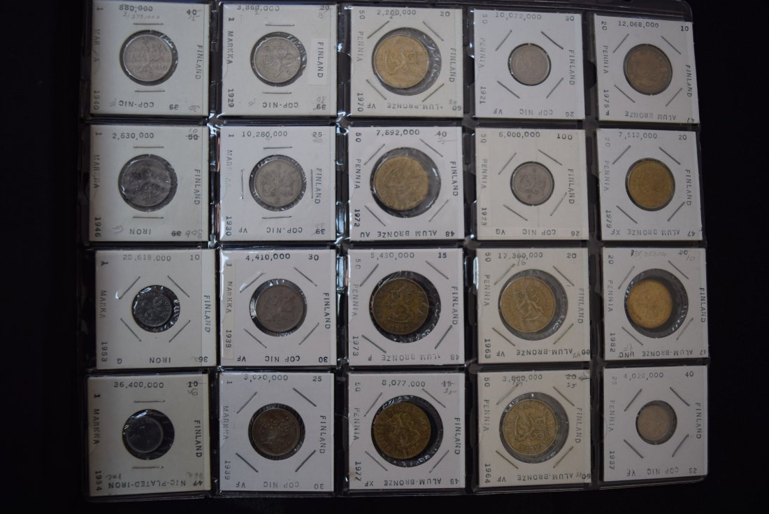 Finland Collectible Coins