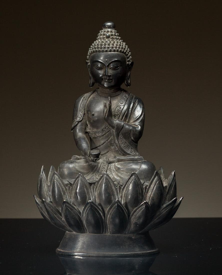 Antique Late Ming Style Buddha