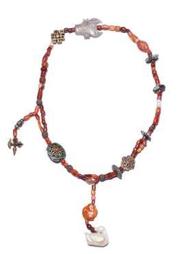 18th Antique Tibet Necklace