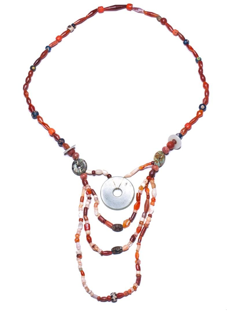 The Warring State/Han Antique Agate Necklace