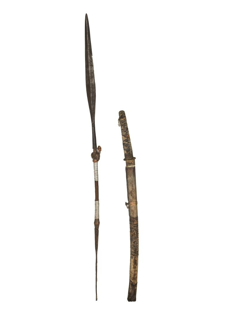 African and Japanese Antique Swords
