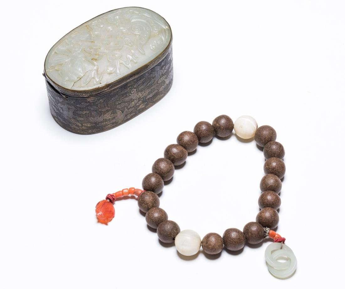 18-19th Antique String Agarwood Prayer Beads