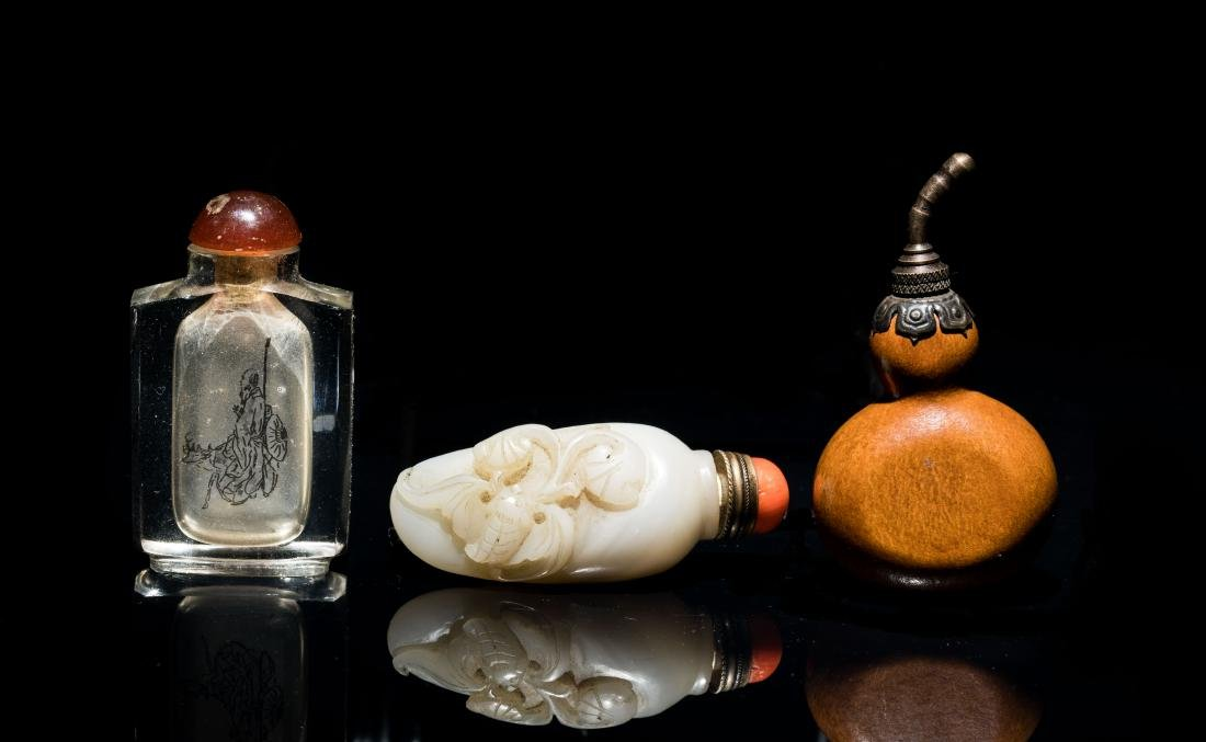 Antique Group of Snuff Bottles