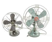 Group of Antique General Electric Fan