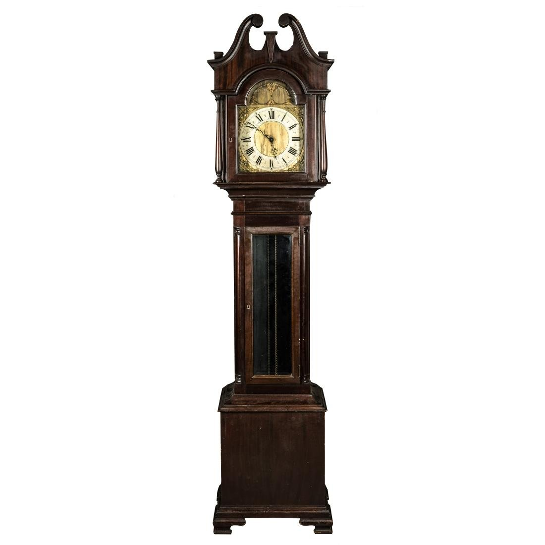 18th Antique Tall-Case Clock