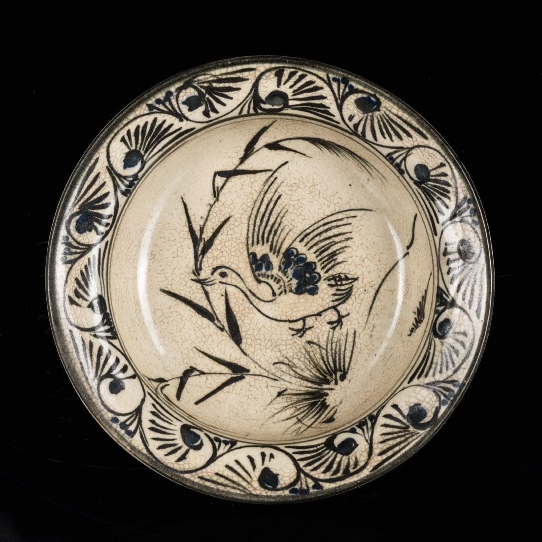 Song Antique Jizhou Stoneware Dish