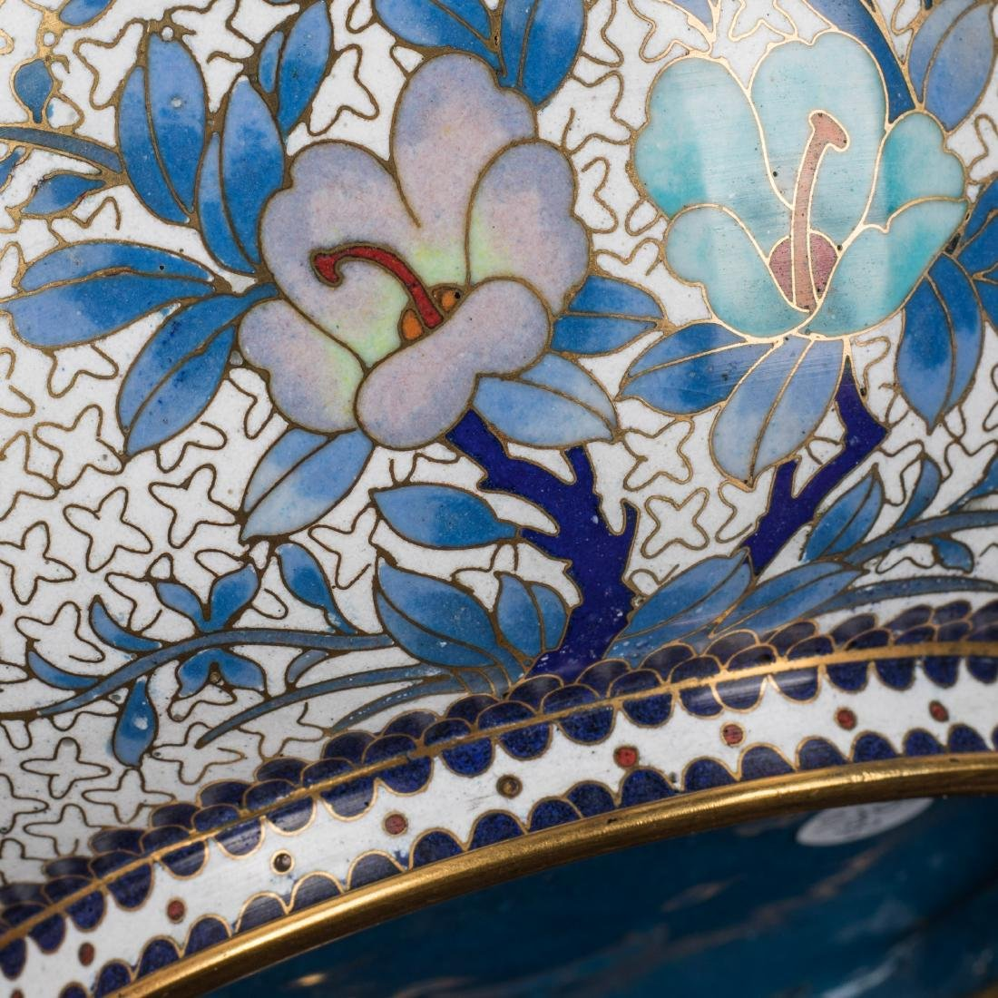 19th Antique Cloisonne Bowl - 6