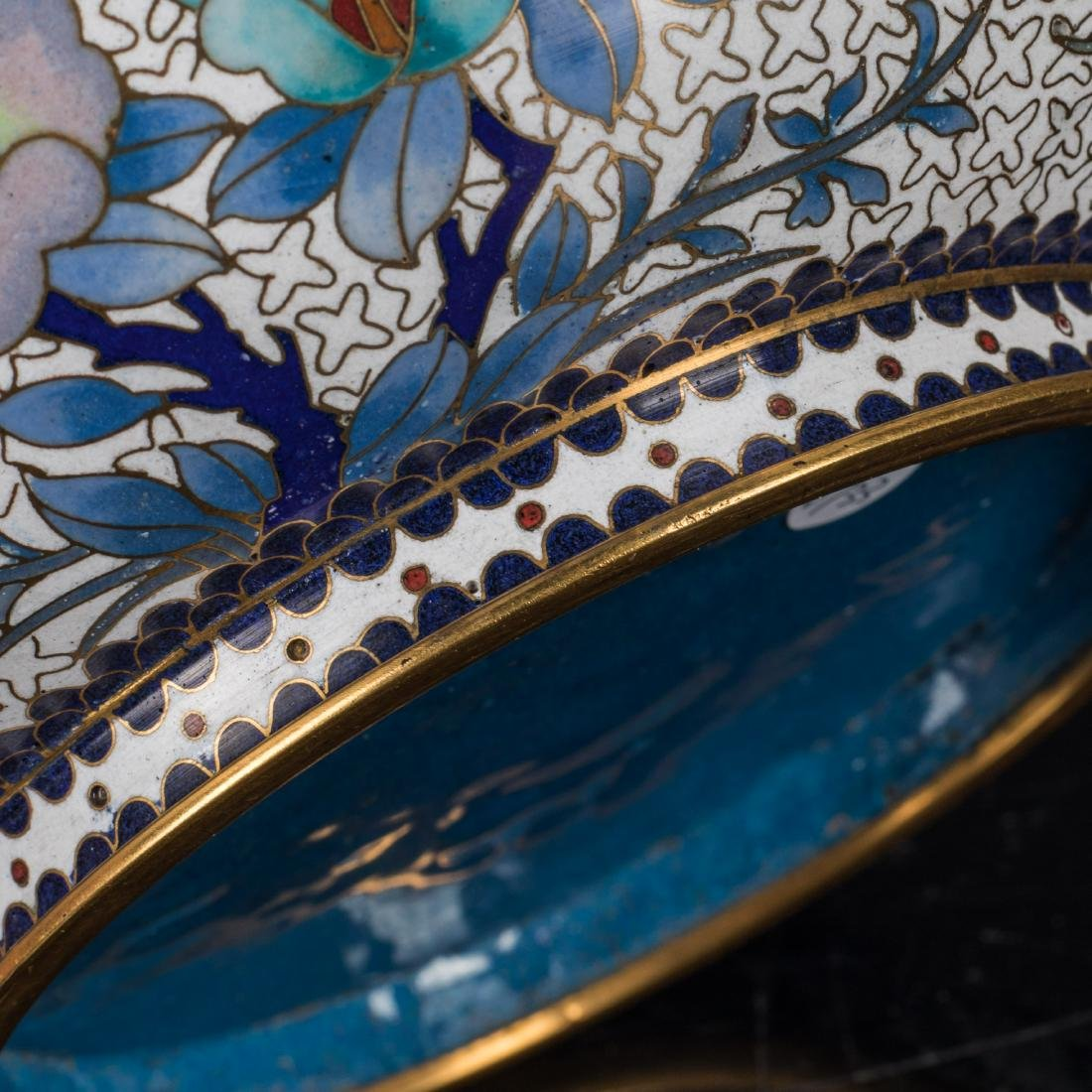 19th Antique Cloisonne Bowl - 7