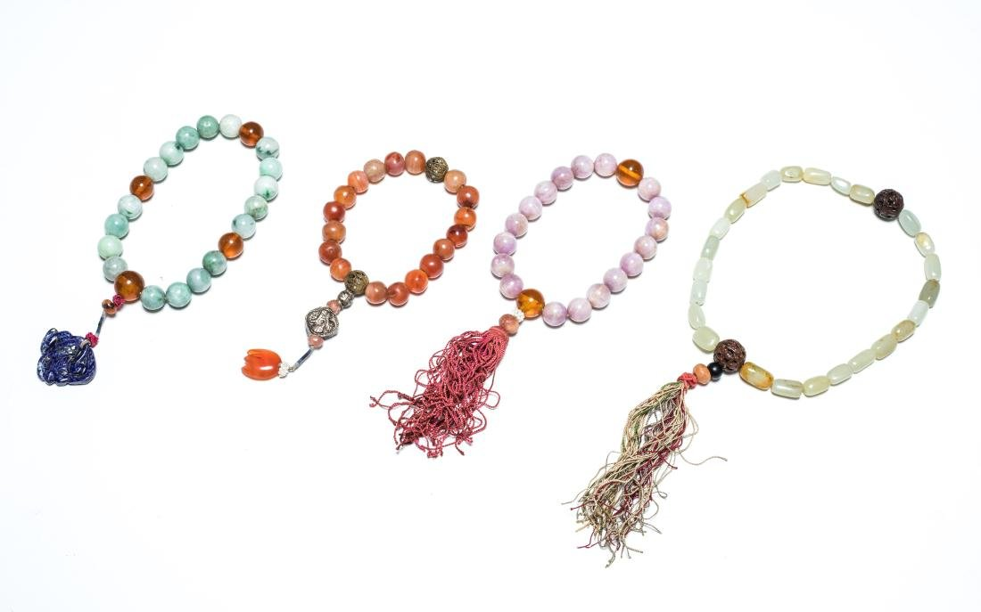 19th Antique Group of Prayer Beads