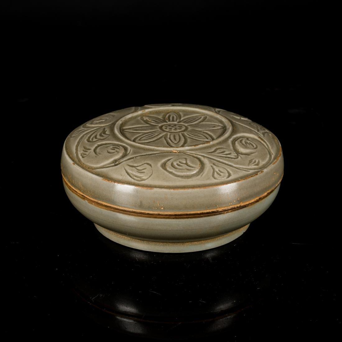 Song Antique Changsha Celadon Rouge Box