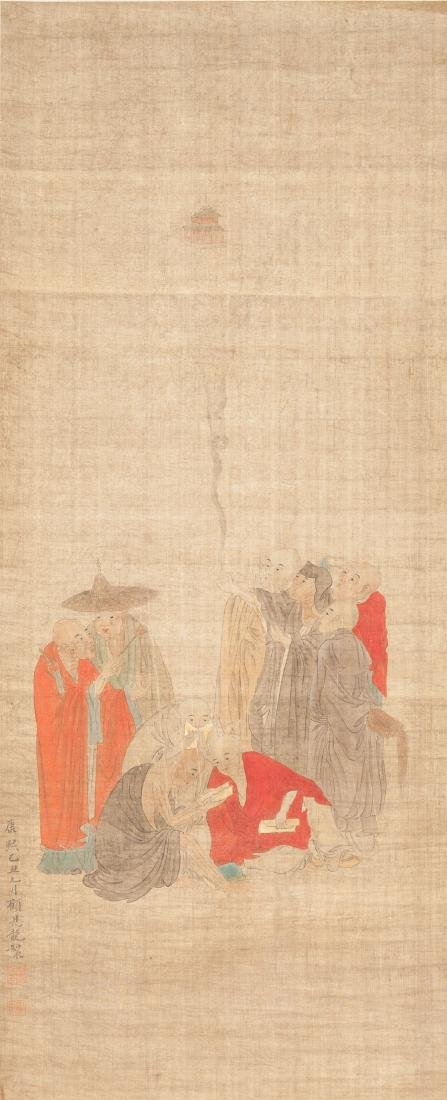 Chinese Antique Figural Painting