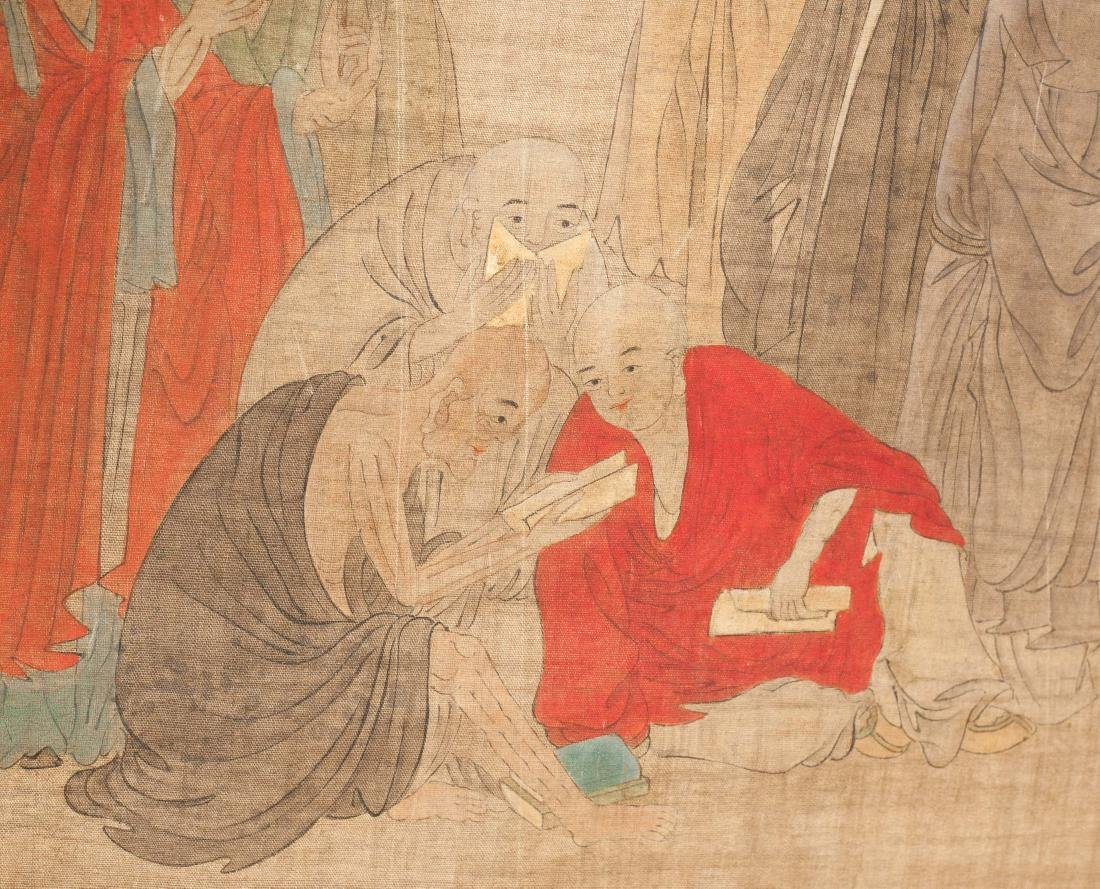 Chinese Antique Figural Painting - 4