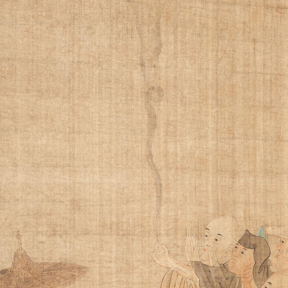 Chinese Antique Figural Painting - 6