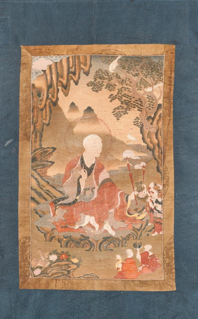 18th Style Antique Buddhist Painting