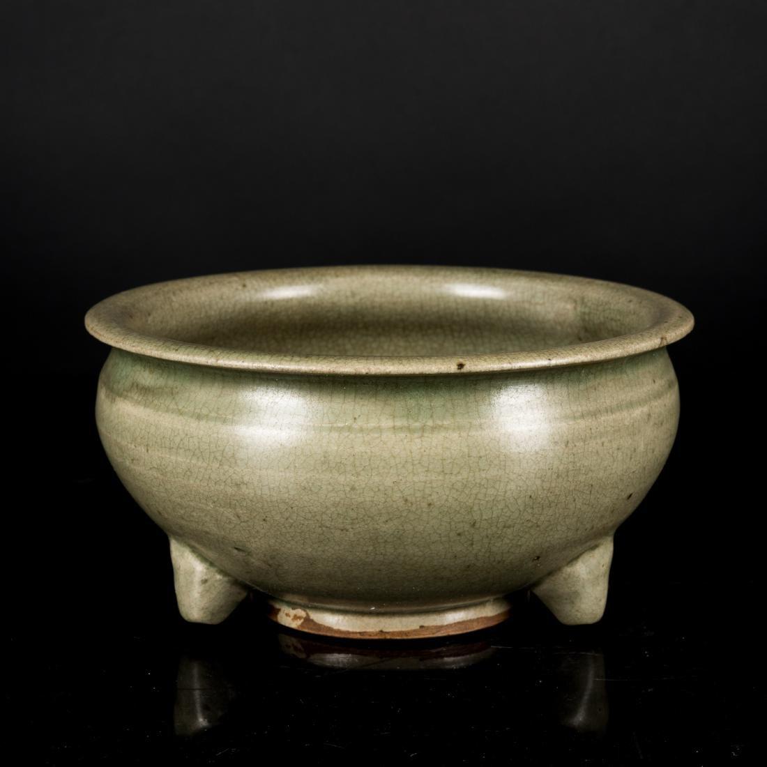 Song or Earlier Antique Changsha Stoneware Censer