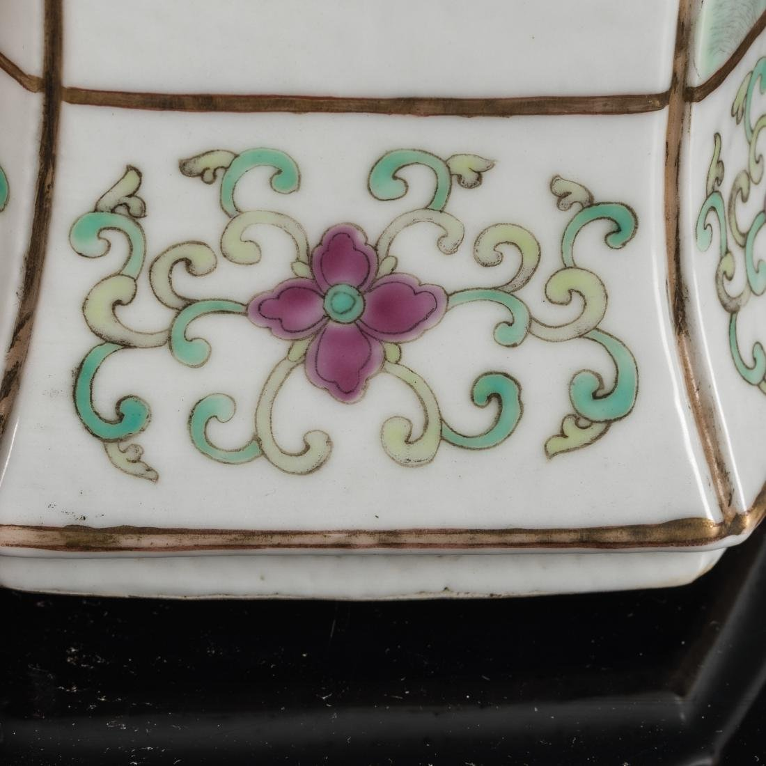 19th Antique Famille Rose Vase - 9