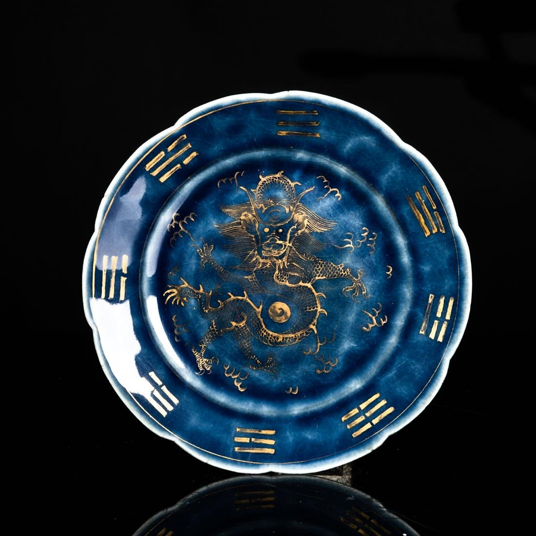 18th Qianlong Period Antique Style Plate