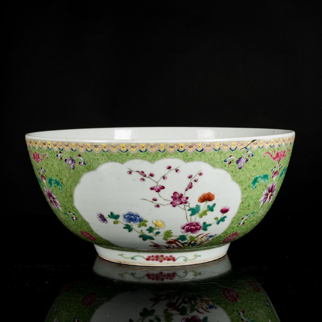 19th Antique Famille Rose Large Bowl