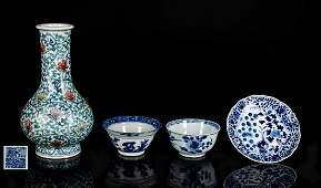Group Of 18-19th Antique Porcelains