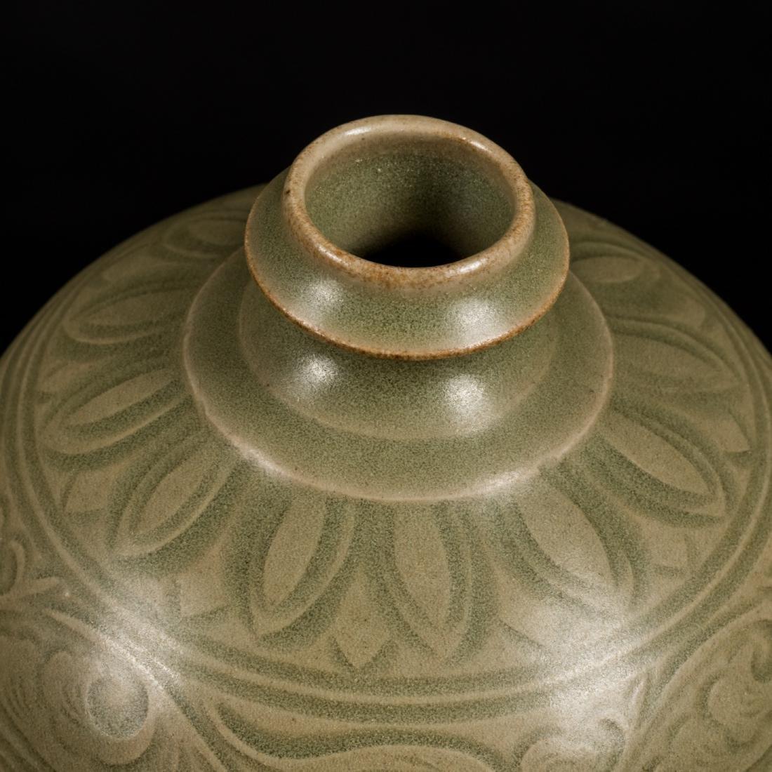 Song Style Antique Yaozhou Vase - 5