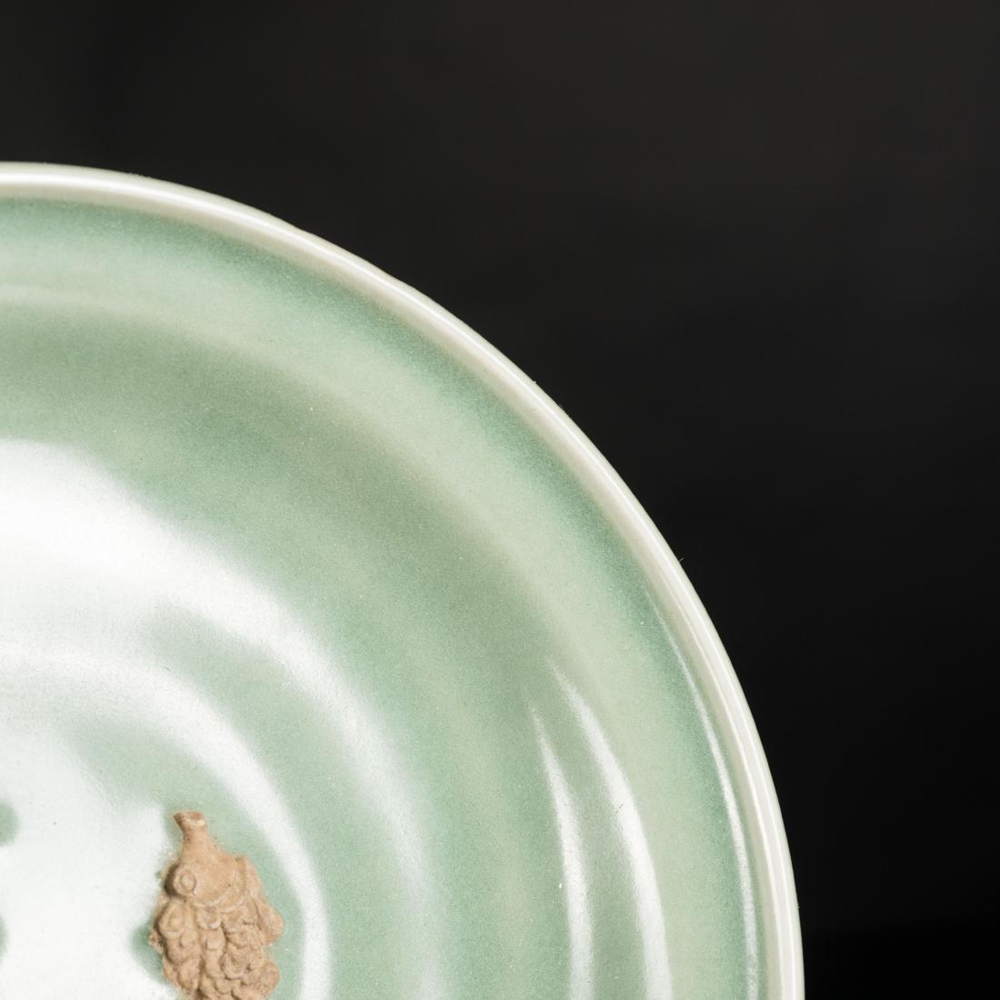 Ming Antique Longquan Dish - 6