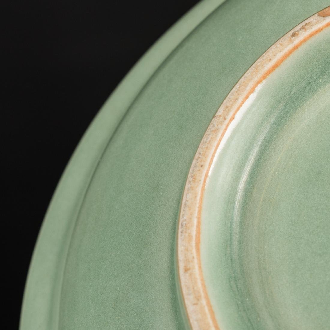 Ming Antique Longquan Dish - 8