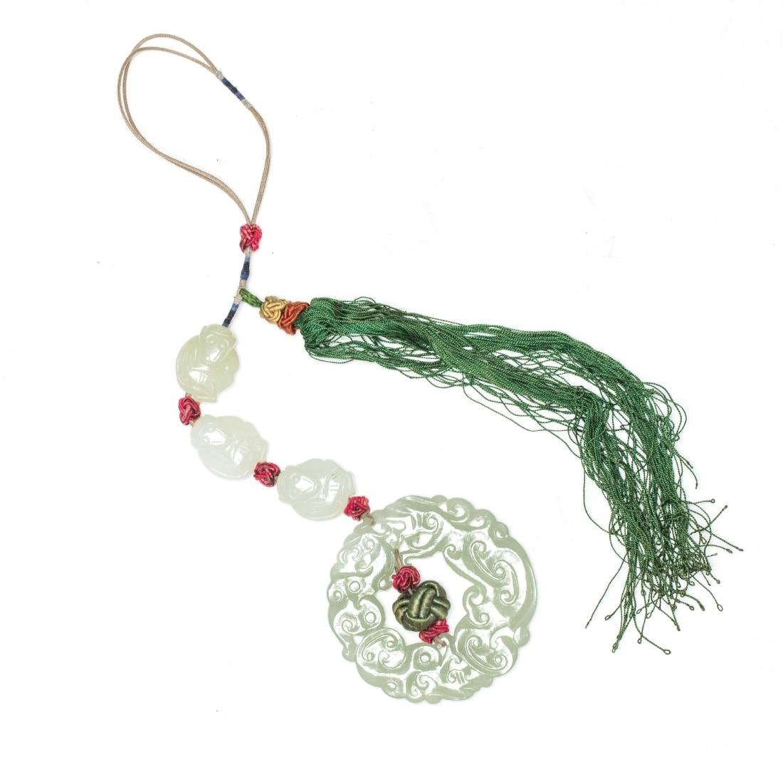 19th Antique Jade Pendant