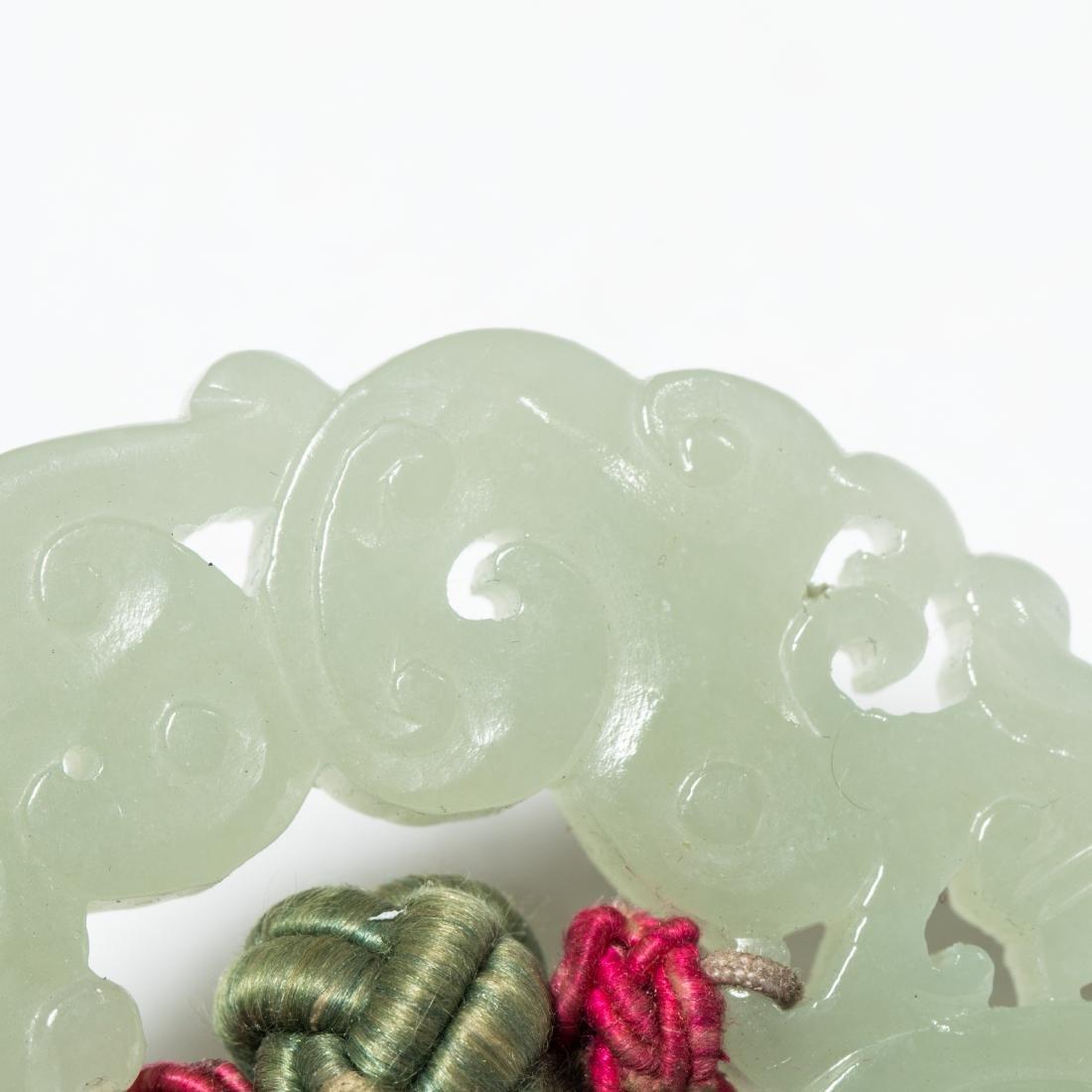 19th Antique Jade Pendant - 6
