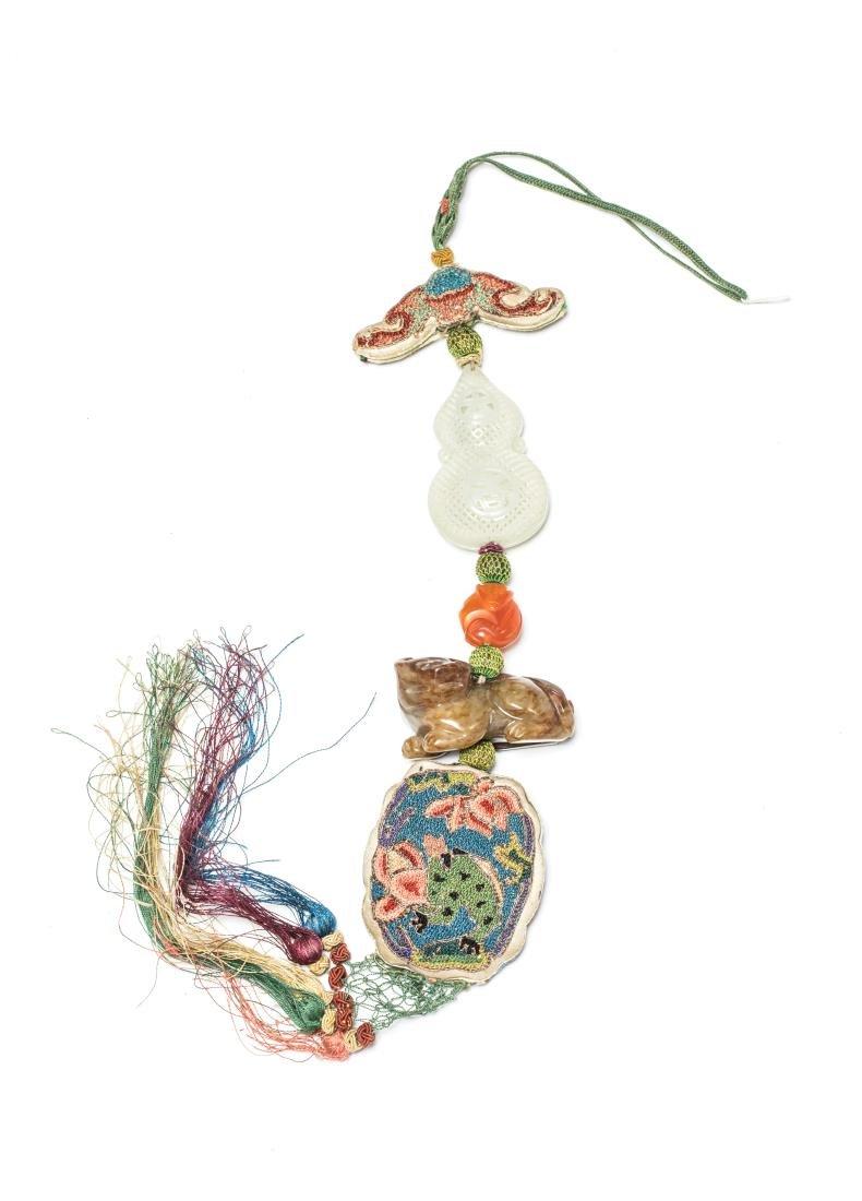 18-19th Antique Manchu Style Pendant