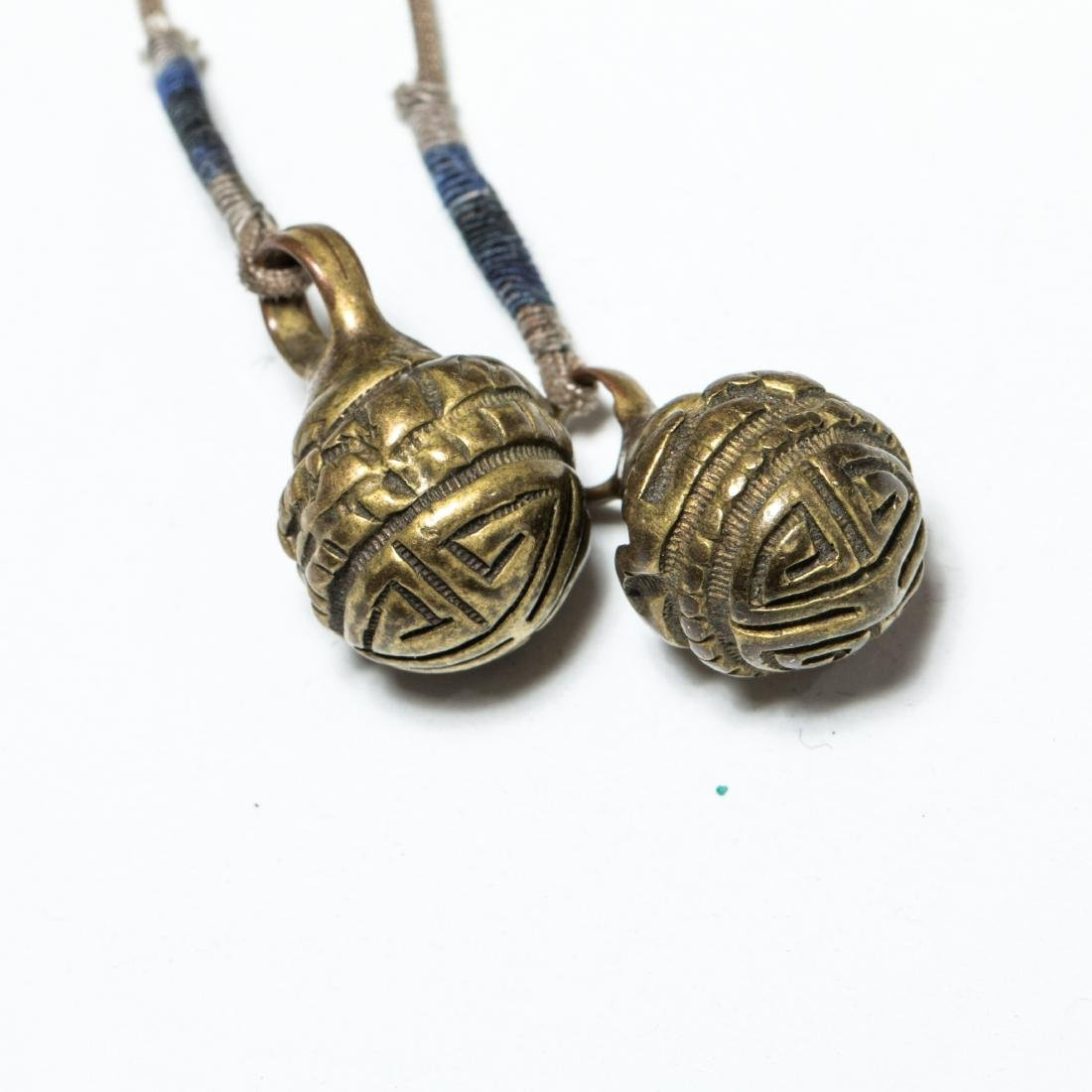 19th Antique Ruby Prayer Beads - 2