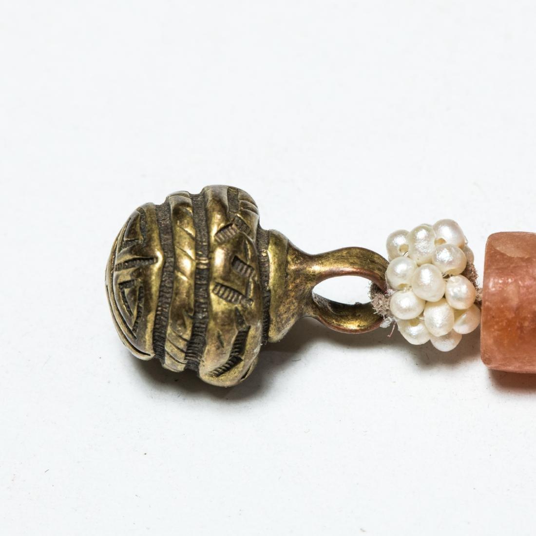 19th Antique Ruby Prayer Beads - 8