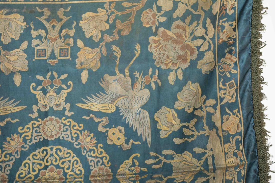 18-19th Antique Silk Embroidery - 3
