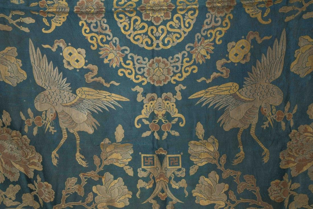 18-19th Antique Silk Embroidery - 4