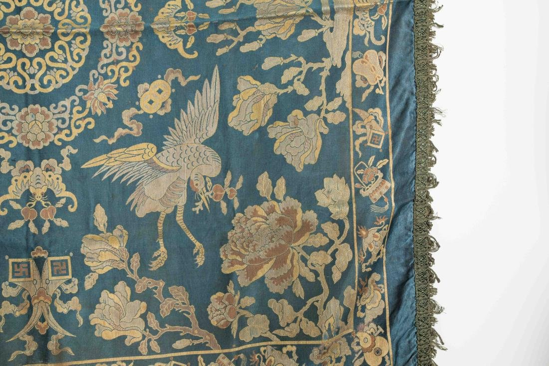 18-19th Antique Silk Embroidery - 5