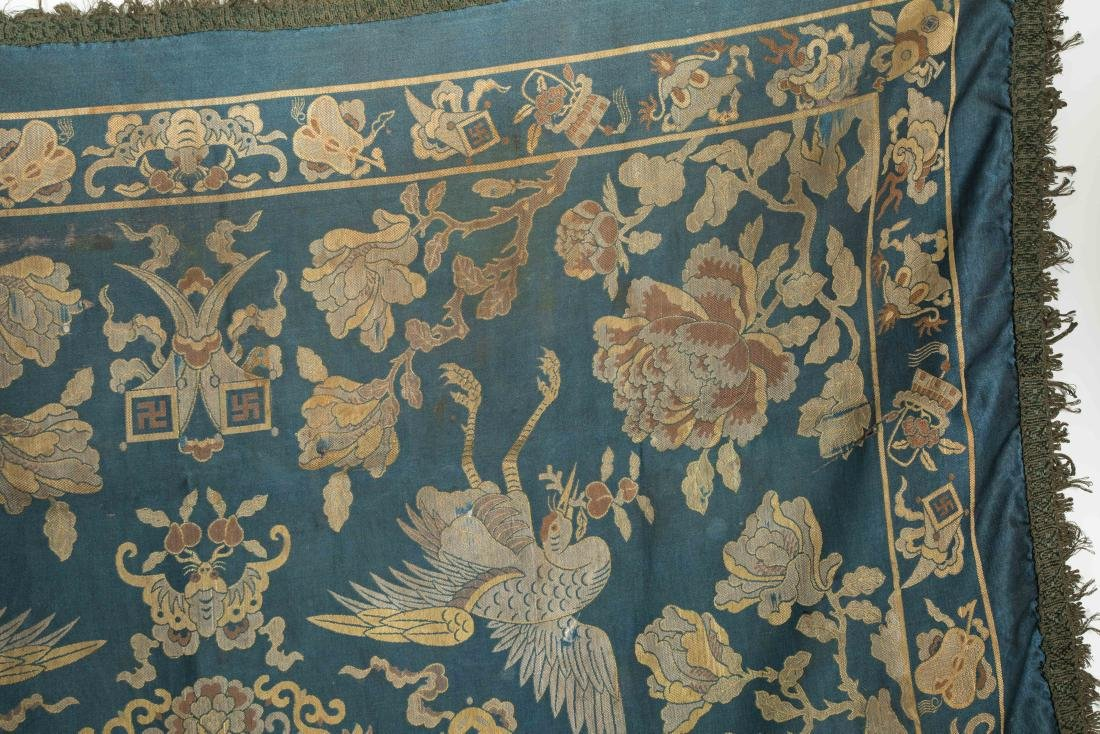 18-19th Antique Silk Embroidery - 6