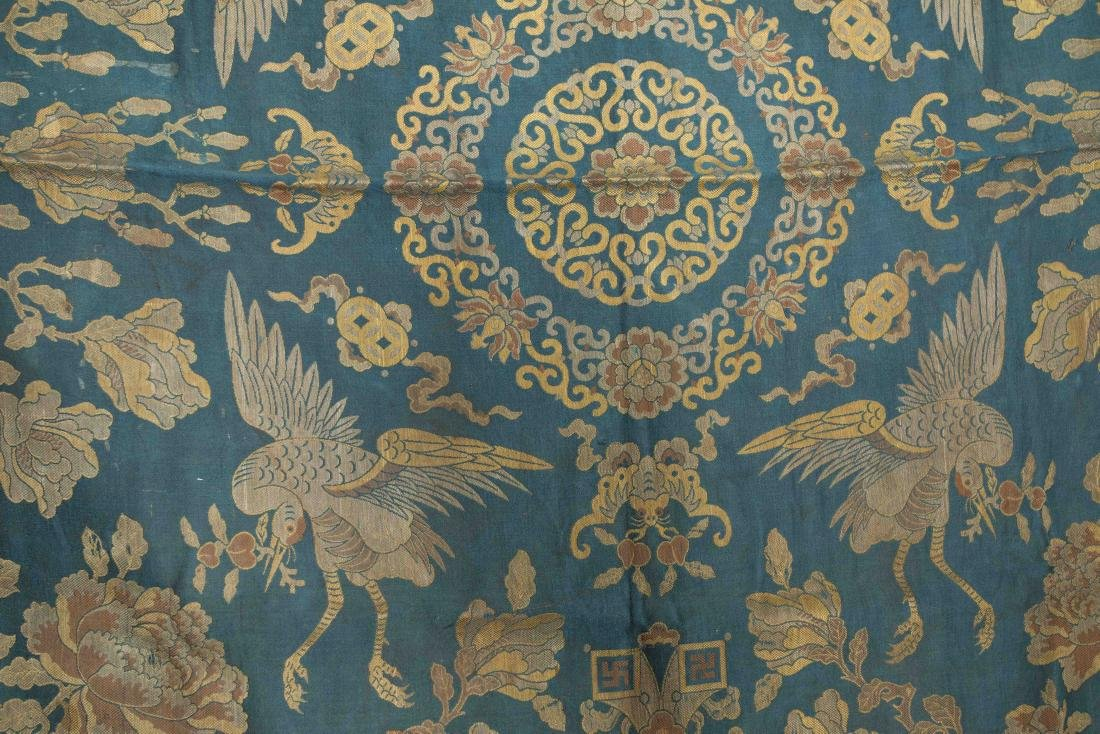 18-19th Antique Silk Embroidery - 7