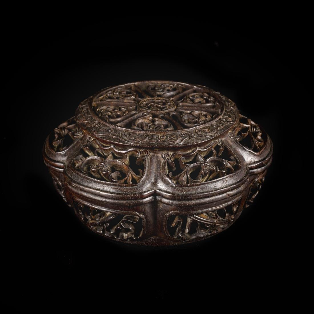 Late 19th Antique Zitan Censer
