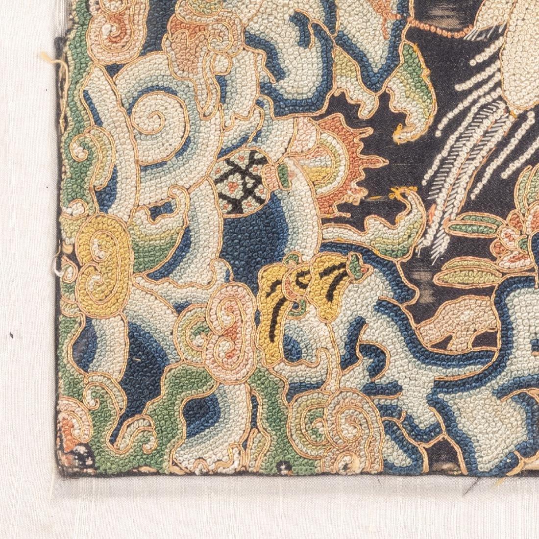 Set Of Four 19th Silk - 5