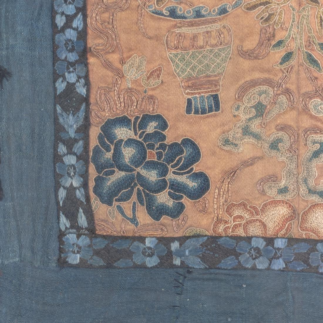 Set Of Four 19th Silk - 7