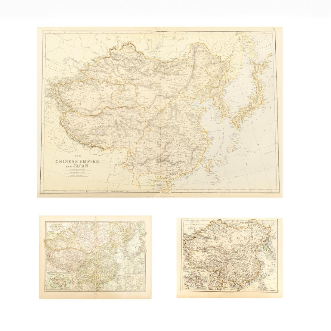 Group 1840-1870 Antique China&Russia Maps