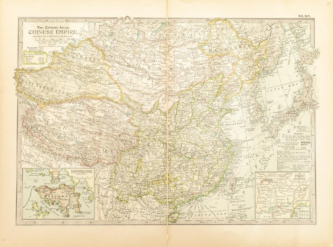Group 1840-1870 Antique China&Russia Maps - 3