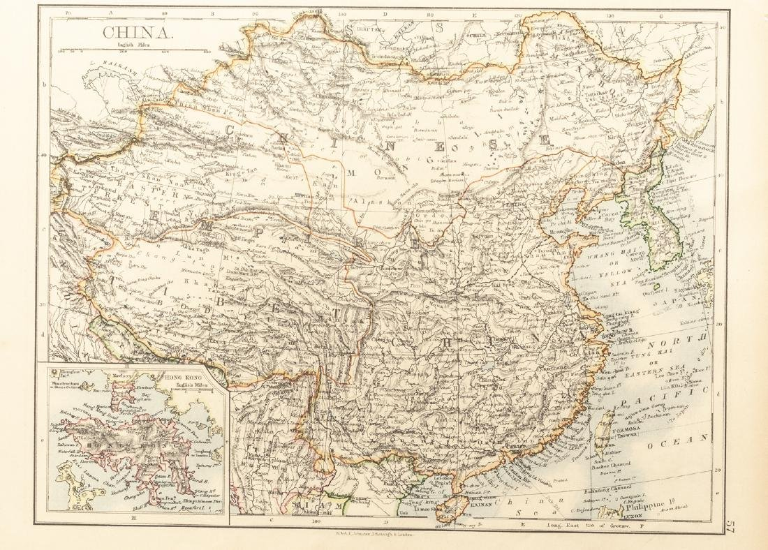 Group 1840-1870 Antique China&Russia Maps - 5