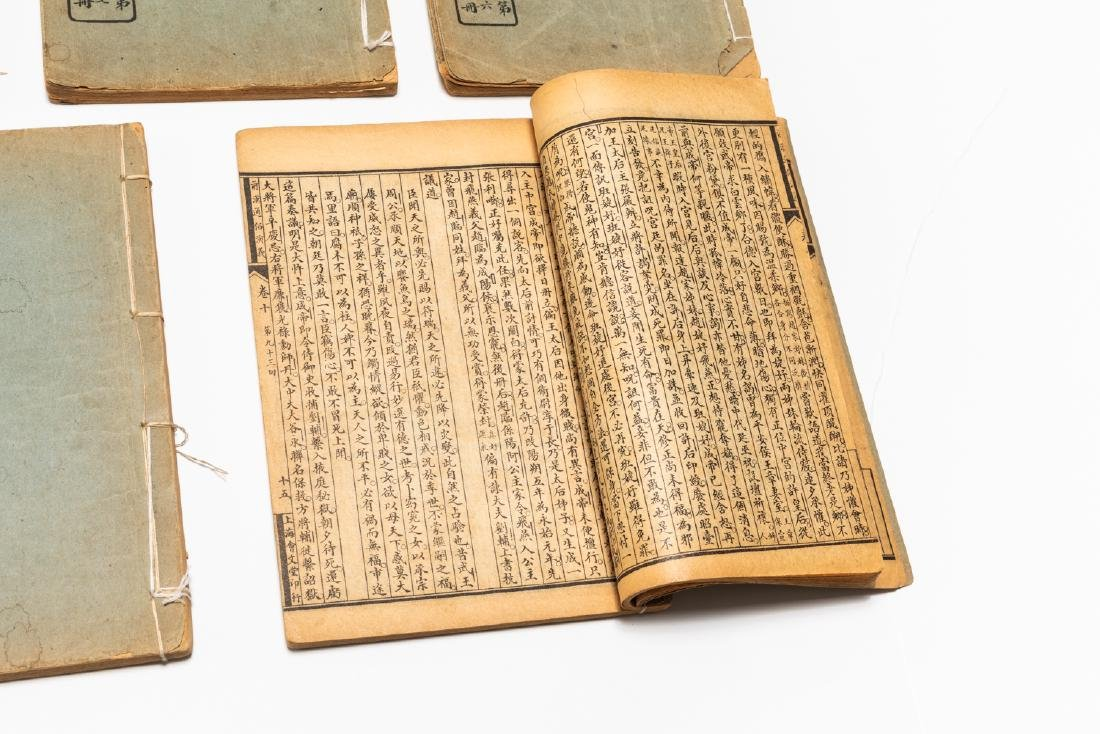 Set Of Chinese Vintage Book - 9