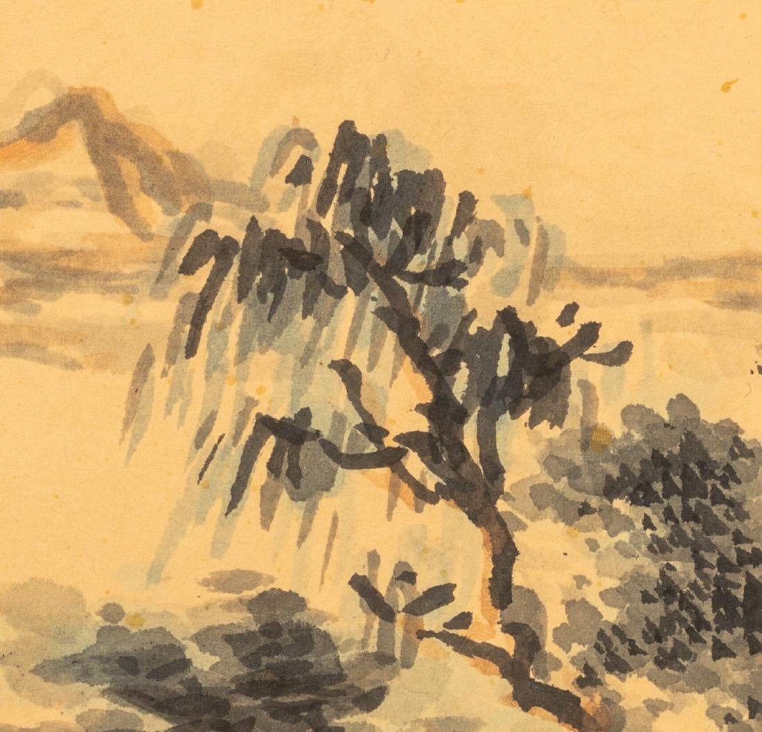 Chinese Antique Fan Painting - 6