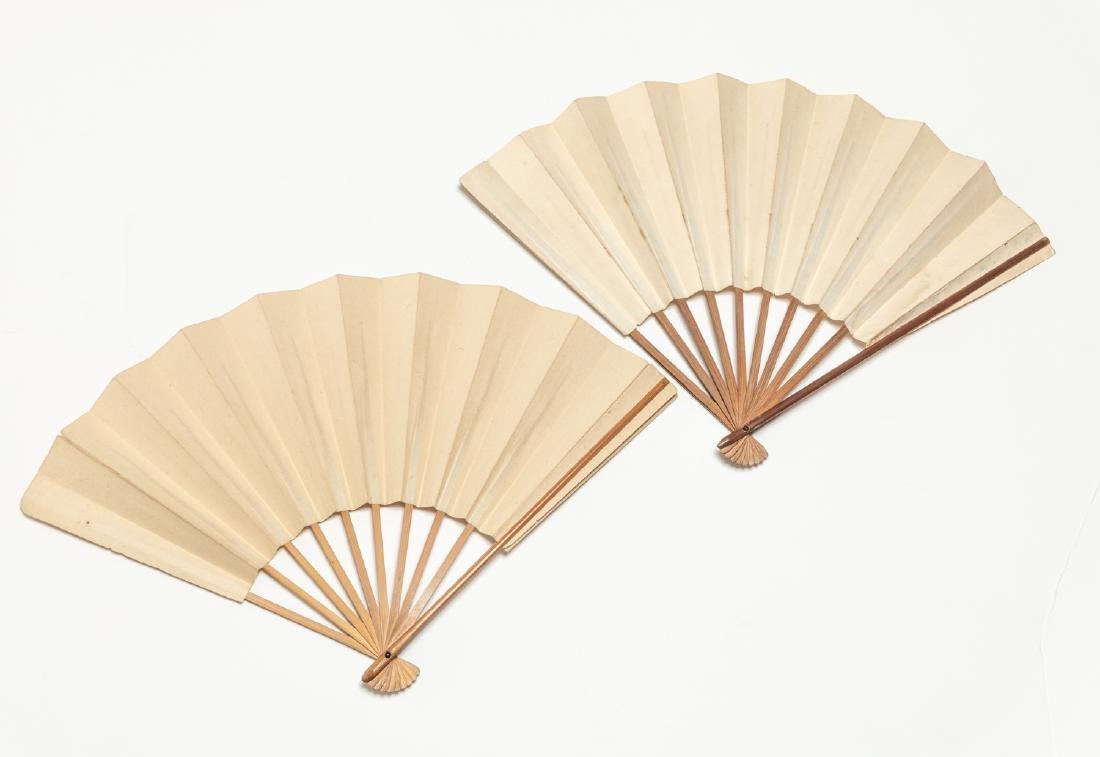 Two Vintage Fan - 2
