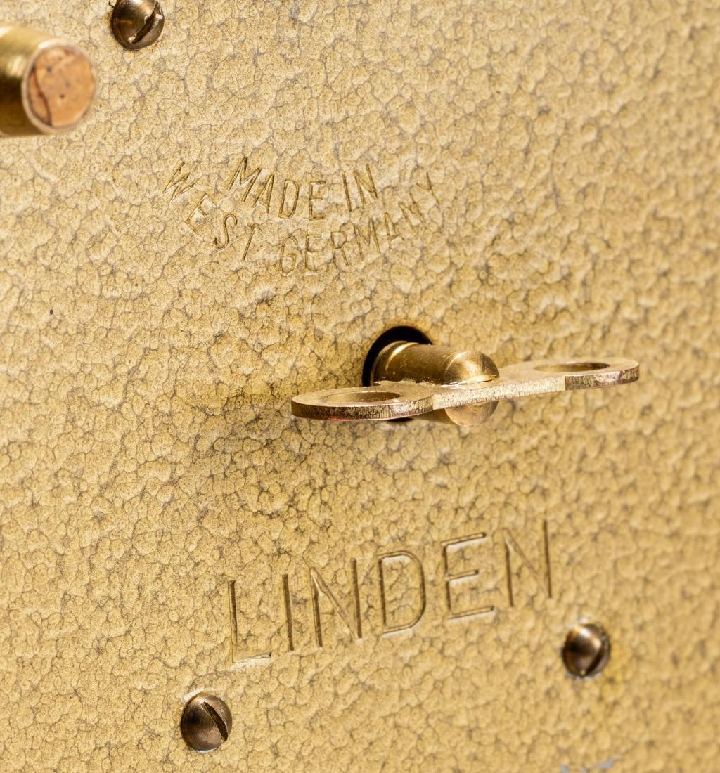 Vintage Linden Brass Birdcage Double Birds Automaton - 4