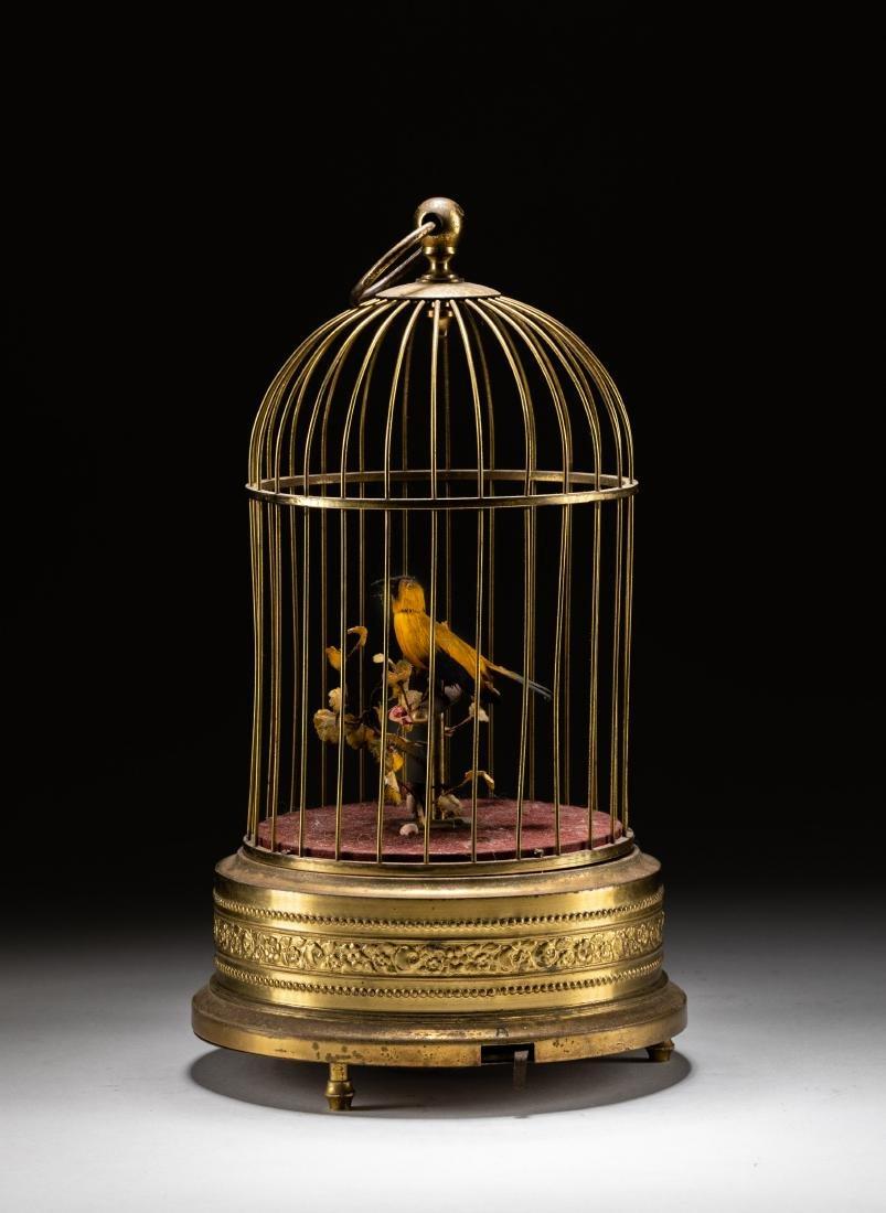 Vintage French/German Bird Automaton