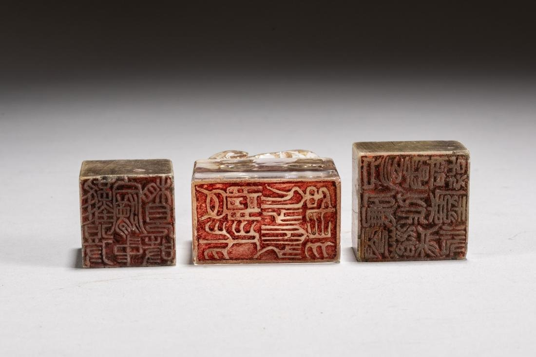 19th Kuangxu Period Chinese Antique Lacquer Stationery - 6