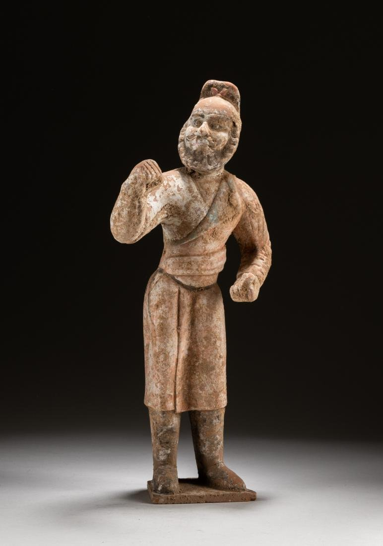 Tang Chinese Antique Pottery Figure