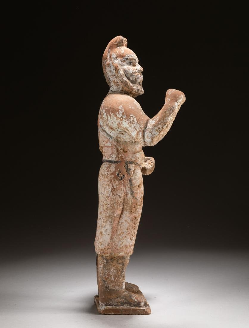 Tang Chinese Antique Pottery Figure - 2